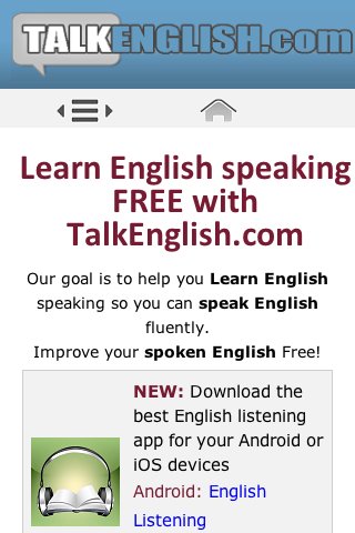 Talk English – Mall-Guide Tools
